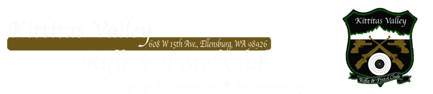 Kittitas Valley Rifle & Pistol Club